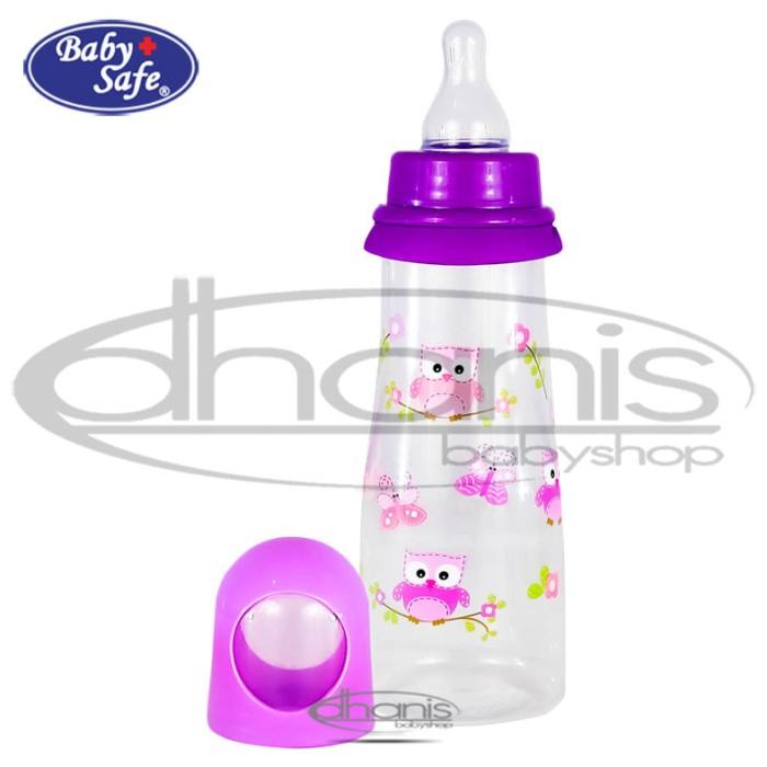 harga Botol susu bayi baby safe karakter 250ml jp003 - ungu Tokopedia.com