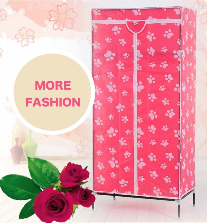 Foto Produk N 1 Multifunction Wardrobe Single rak pakaian lemari cover dpt dicuc dari Satufeet