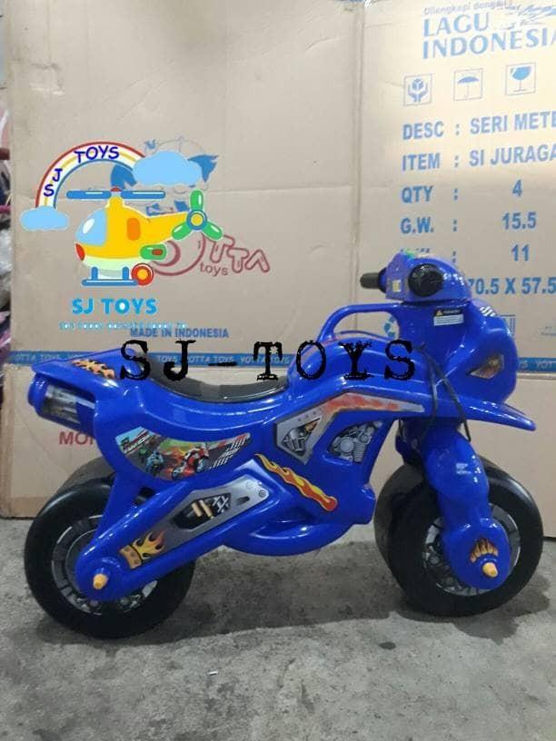 harga Mainan Anak/motor Balap/motor Rx 32/miki Toys/mobil Dorong/sepeda Anak Tokopedia.com