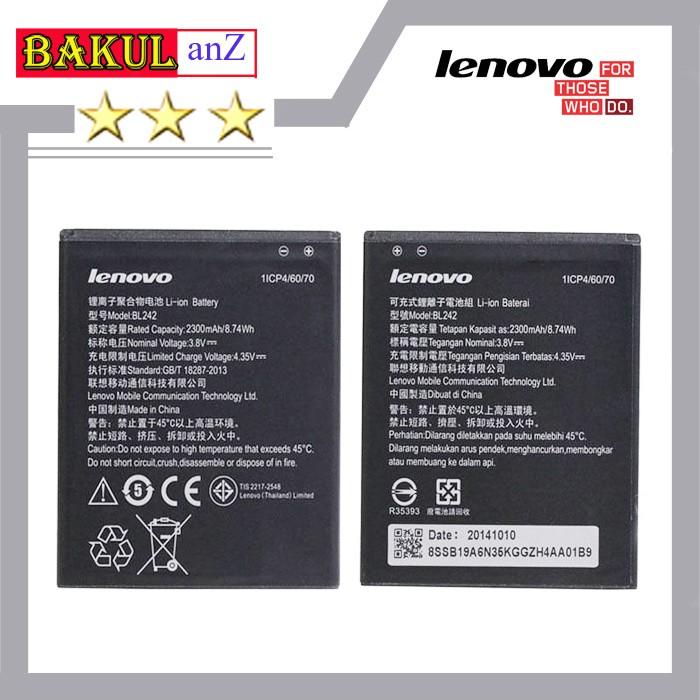 harga Baterai battery handphone lenovo a6000 bl242 - batre lenovo a 6000 ori Tokopedia.com