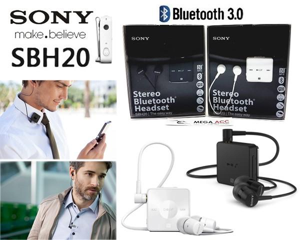 harga Headset stereo bluetooth sony sbh 20 Tokopedia.com