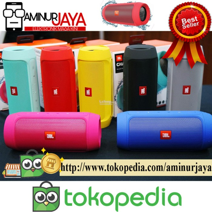 harga Jbl charge k3 plus bluetooth speaker waterproof portable outdoor new Tokopedia.com