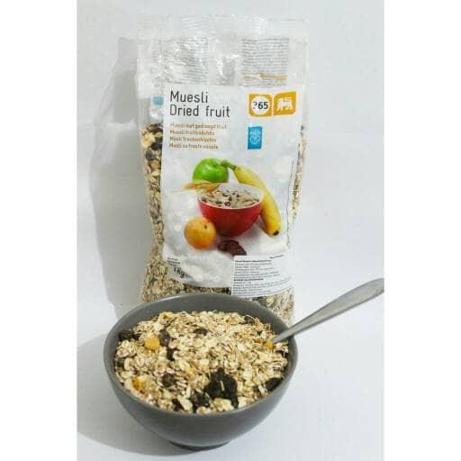 harga Muesli dried fruit granola cereal berat 1000 gram Tokopedia.com
