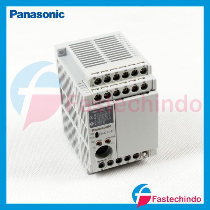 Foto Produk PLC 14IO 8INPUT 6OUTPUT 24VDC TRANSISTOR OUTPUT, FPX-C14T PANASONIC dari fastech-indo