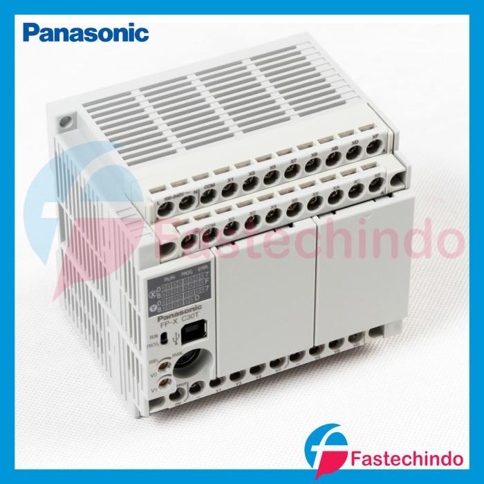 Foto Produk PLC 30IO 16INPUT 14OUTPUT 24VDC TRANSISTOR OUTPUT, FPX-C30T PANASONIC dari fastech-indo