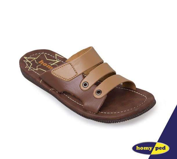 harga Homyped sandal anak junior 03 camel/brown Tokopedia.com