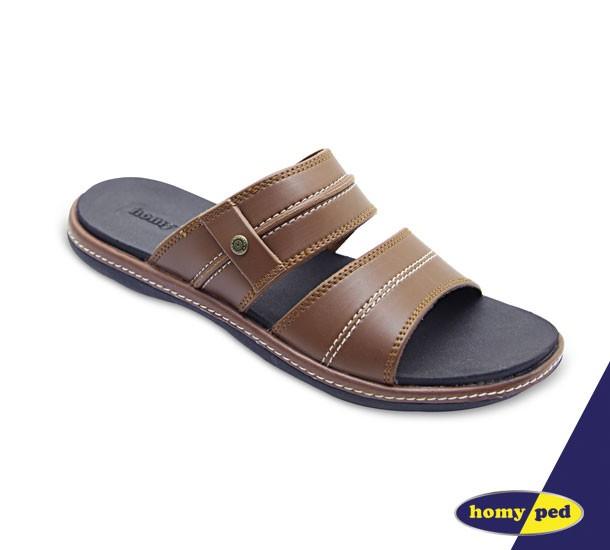 homyped sandal pria norton 02 tan