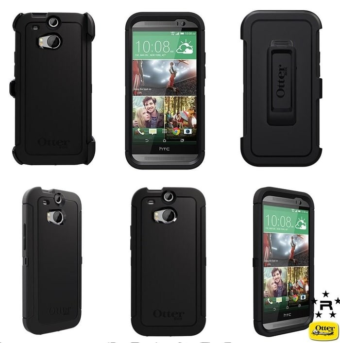 new styles 992a3 6e0ac Jual HARDCASE BACK COVER OTTERBOX DEFENDER HTC ONE M8 BELTCLIP PREMIUM -  center asia | Tokopedia