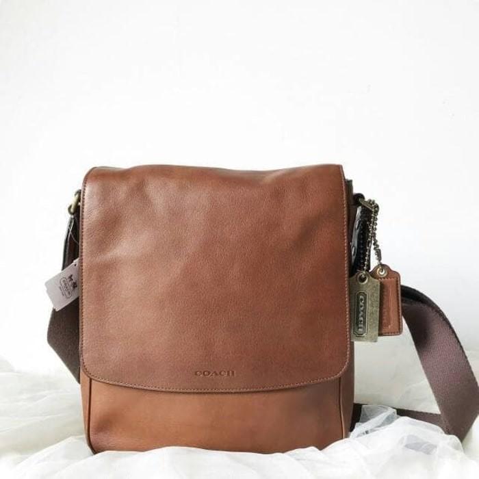 Jual Tas Selempang pria coach sling bag authentic 100% original ... 89c513fe9b