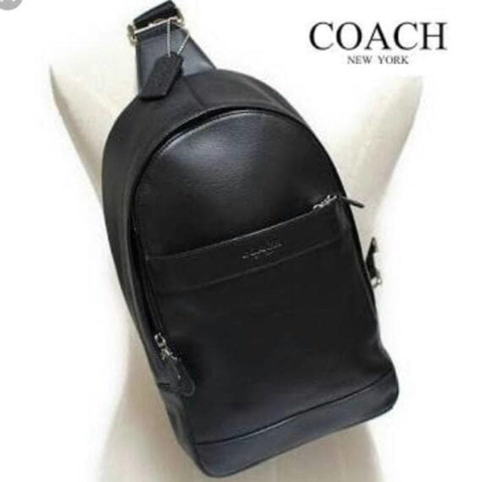 Jual Tas ransel backpack pria coach polgan authentic 100% original ... 8e2b2a6c60