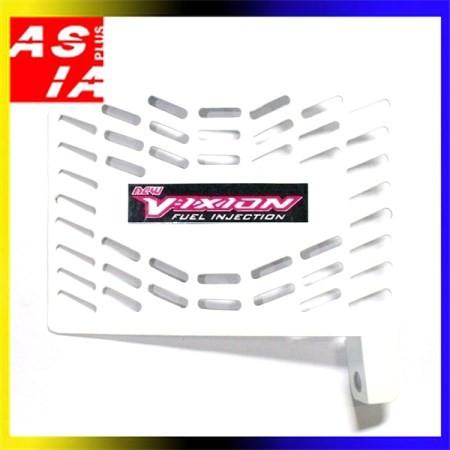 harga Tutup radiator variasi yamaha vixion new white onderdil motor racing Tokopedia.com