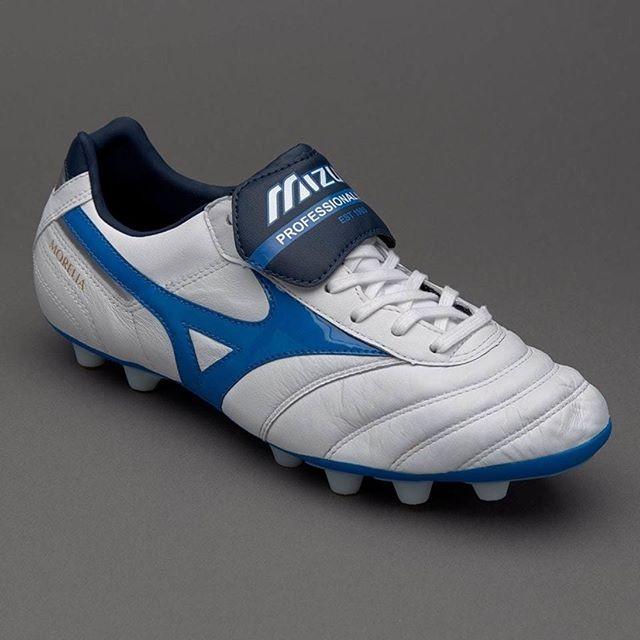 38efba4b2 Jual Sepatu Bola Mizuno Morelia II MD White Directoire Blue - Kab ...