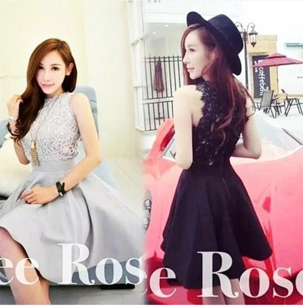 harga Jes-ps0366 mini dress brukat sexy import korea-party dress-gaun pesta Tokopedia.com