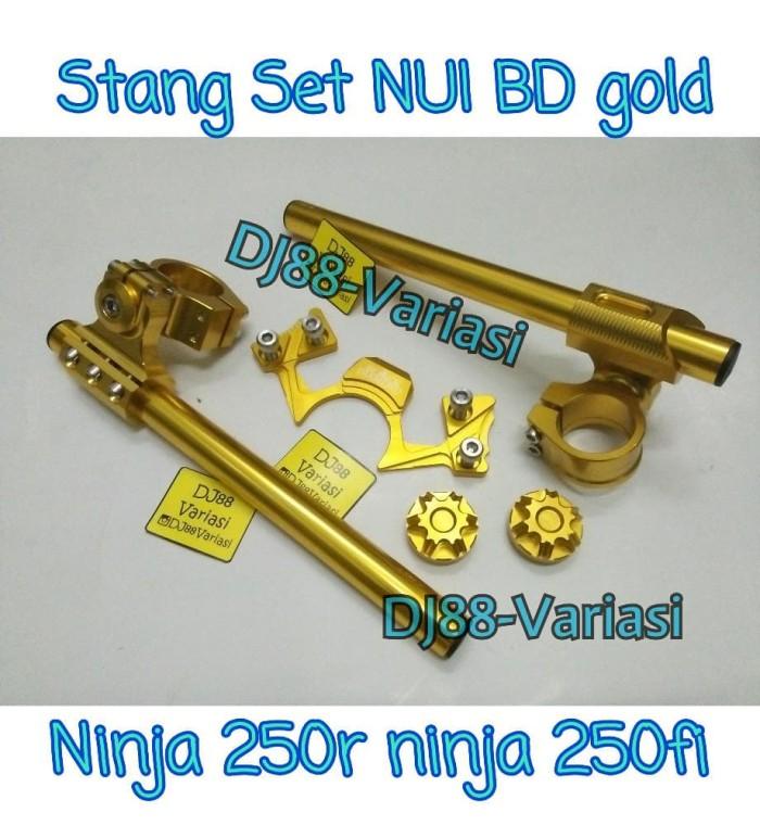 harga Stang set nui black diamond ninja 250r ninja 250 fi tutup shock ninja Tokopedia.com