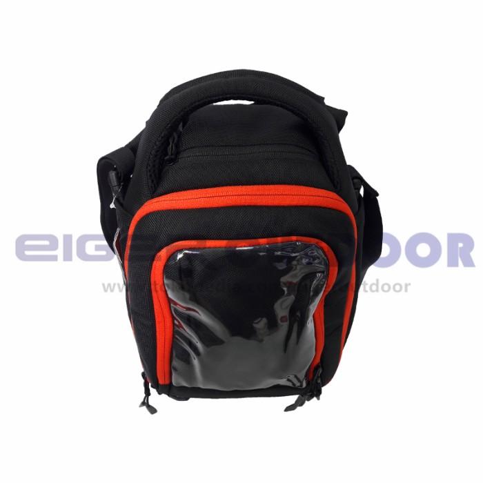 TAS EIGER 6324 VANQUISH 9L BLACK TANK BAG MOTOR ORIGINAL