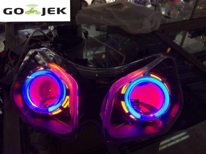 harga Headlamp projector motor vario 110 Tokopedia.com