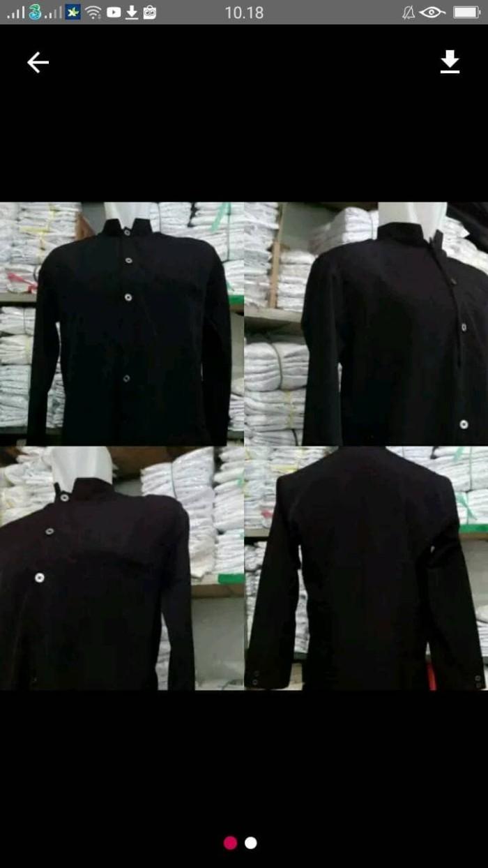 Jasko Jumbo Modern Hitam Premium Baju Muslim Pria Harga