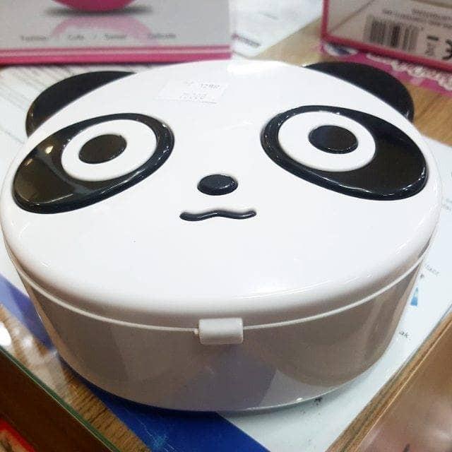 kotak musik music box panda kepala cute balet ballerina perhiasan