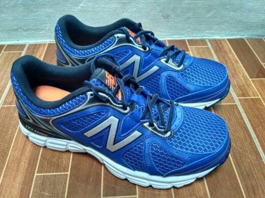 ... harga Nb new ballance m560rb6 biru sepatu lari senam olahraga pria  running Tokopedia.com 5b29ce7eed