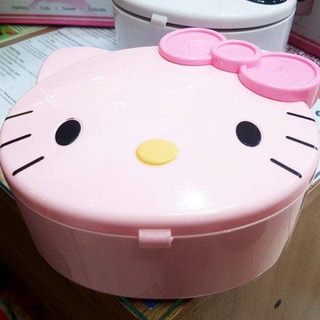 kotak musik hk hello kitty disney balet ballerina music box perhiasan