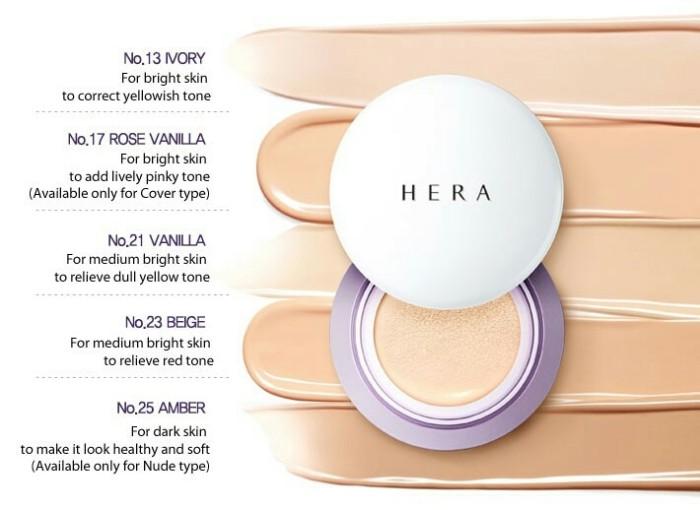 Jual Hera Uv Mist Cushion Cover Spf50 Pa Refill Jakarta Barat Calin Beauty Tokopedia