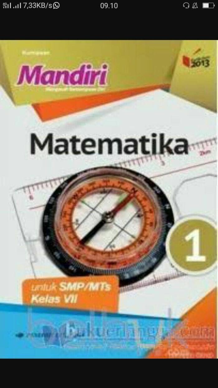 Foto Produk mandiri matematika SMP kls 1 erlangga dari iinbuku