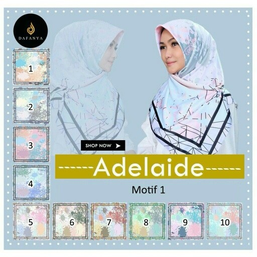 Katalog Jilbab Segi Empat Satin Motif DaftarHarga.Pw