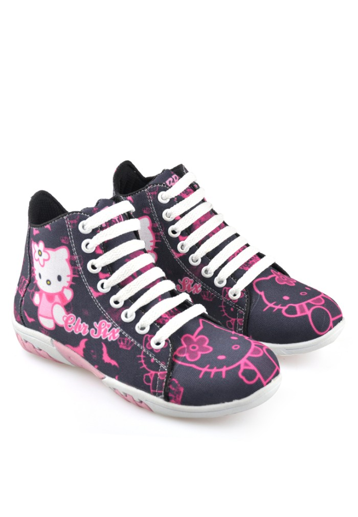 harga 009rncsepatu boots anak perempuan/sneaker/casual/sepatu hello kitty Tokopedia.com