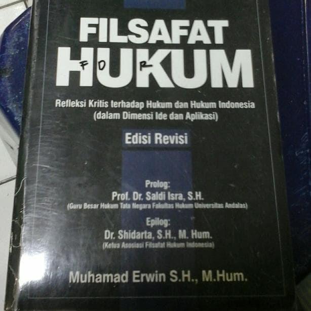 harga Filsafat hukum edisi revisi- muhammad erwin Tokopedia.com