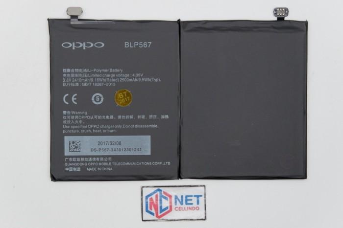 Baterai / battery / batre oppo blp567 / r829 / r829t / oppo r1 ori
