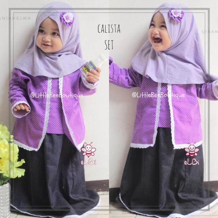 Jual Kebaya Muslim Anak Calista 3 4 Tahun Baju Kartinian Kota Surabaya Littlebee Boutique Tokopedia