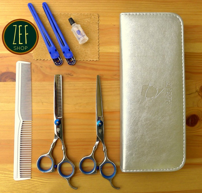 harga Set gunting potong rambut smith chu 5,5 inch (barber/salon) Tokopedia.com