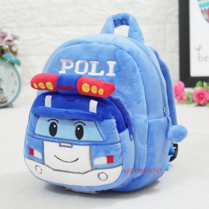 harga Tas boneka karakter robo poli / ransel bacpack anak paud 25cm Tokopedia.com