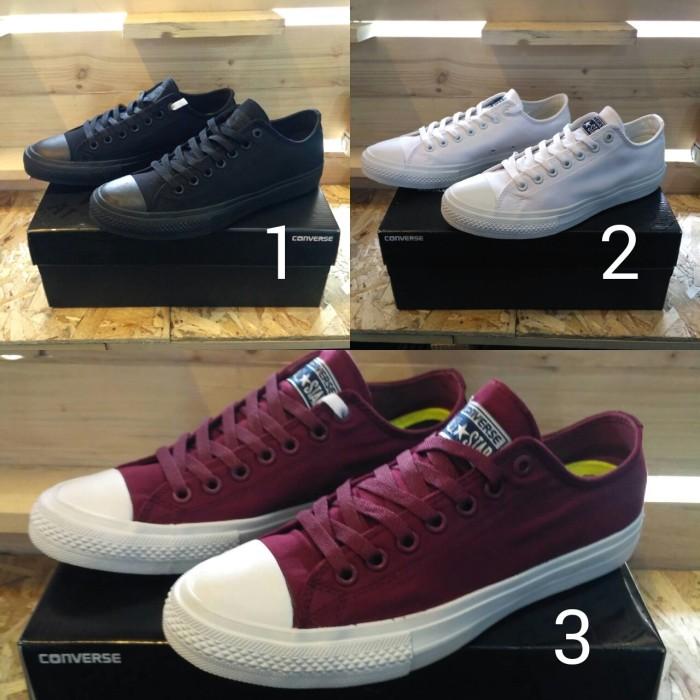Jual sepatu converse CTII low port royale premium bnib - converse ... fd2d113c14