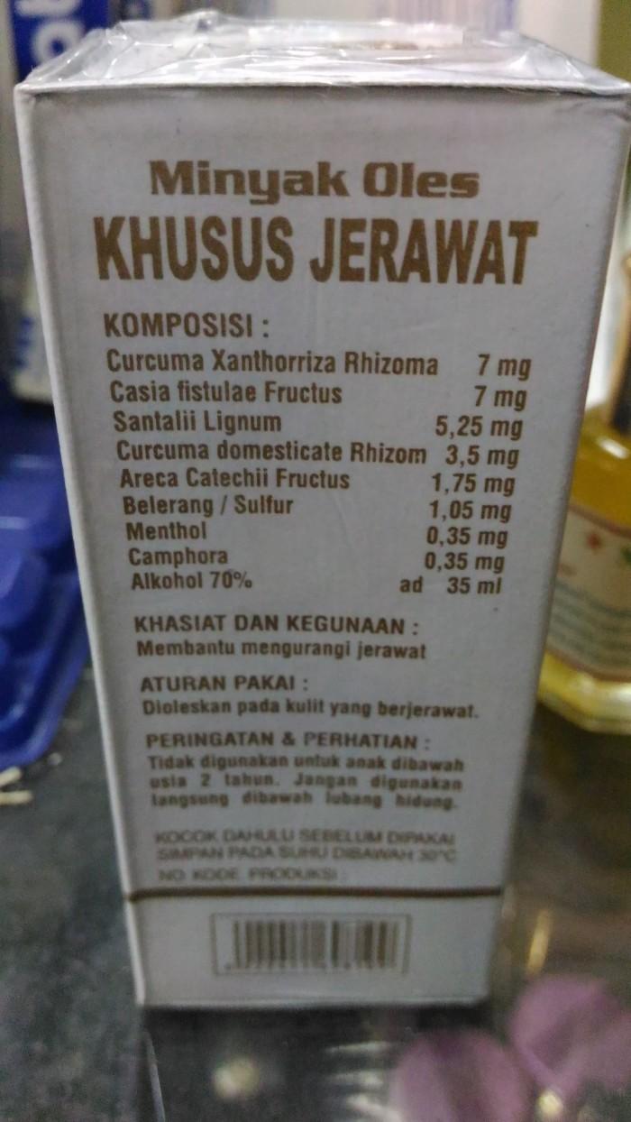 Lucky Minyak Oles Wayang Khusus Jerawat 35ml Daftar Harga Herbal Cap Bpom