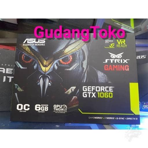 harga Vga asus strix gtx1060 6gb dc2 oc edition Tokopedia.com
