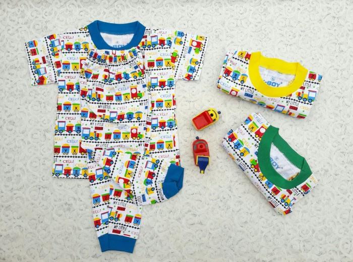 harga Baju tidur piyama anak/ setelan panjang anak laki little train 2-4 th Tokopedia.com