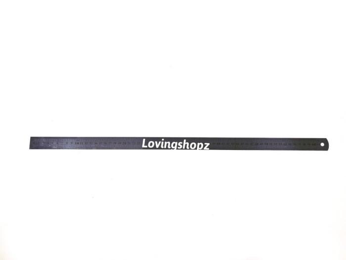 Penggaris besi stainless 60 cm