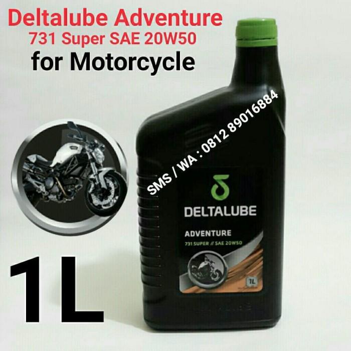 harga Deltalube adventure 731 super sae 20w50 - for motorcycle - kemasan 1 l Tokopedia.com