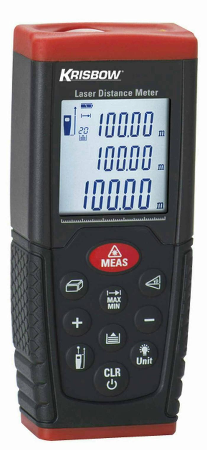 harga Jual laser distance meter 100m krisbow Tokopedia.com
