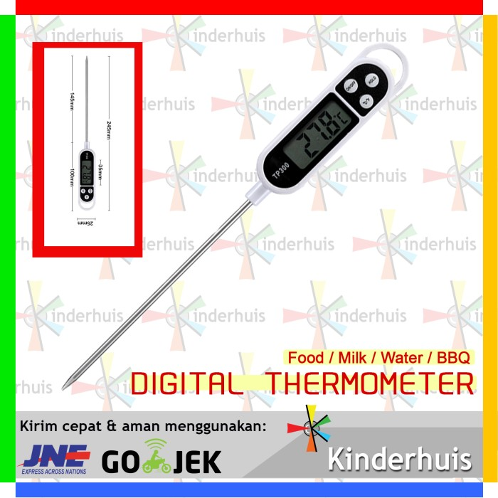 harga Digital termometer serbaguna (susu bayi / teh / bbq / air mandi) Tokopedia.com