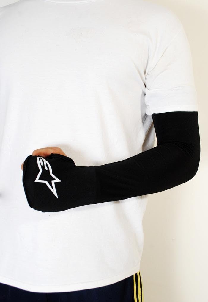 harga Manset alpinestar arm sleeve warmer pelindung lengan tangan sepeda Tokopedia.com