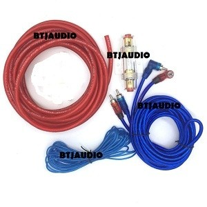 harga Kabel set audio mobil untuk instalasi subwoofer aktif Tokopedia.com