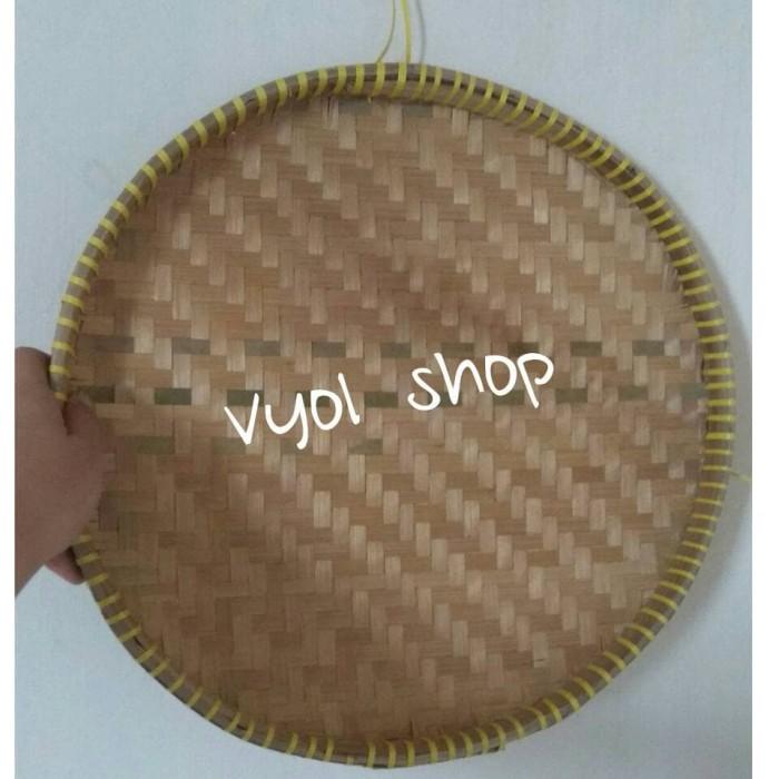 harga Tampah 57cm/piring bambu/kerajinan bambu/anyaman bambu Tokopedia.com