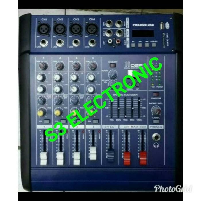 harga Power mixer audio 4 chanel pmx 402d Tokopedia.com