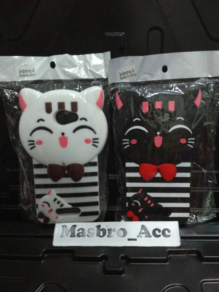... harga Case 3d boneka mimi cat smartfren andromax a 4g lte new karakter  soft Tokopedia. b4b3d89b9e
