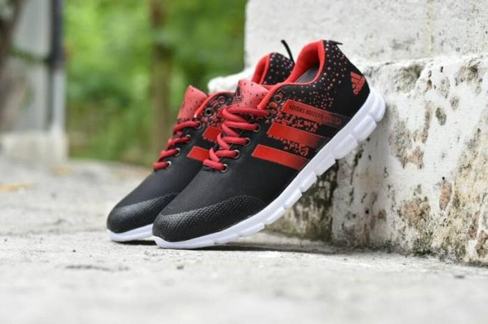 save off 7a66e 49435 ... harga Sepatu sport adidas adizero knit 2.0 hitam merah - running  olahraga Tokopedia.com