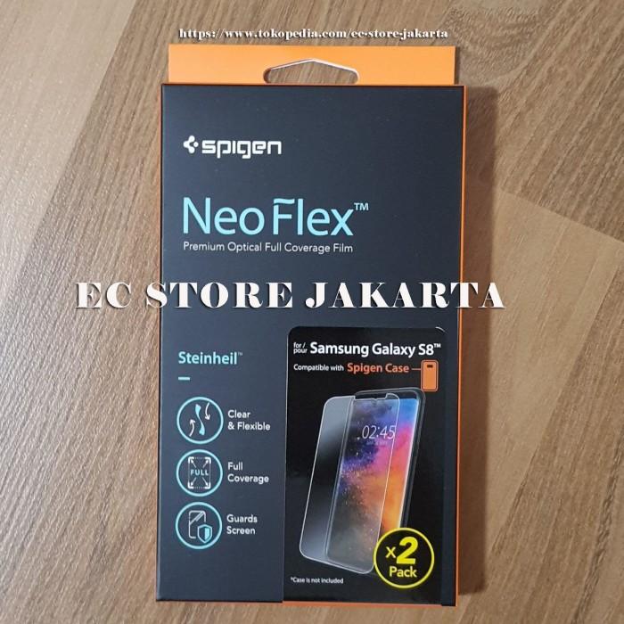 reputable site 1cdcb 1ed0d Jual Original Spigen Neo Flex HD Screen Protector Samsung Galaxy S8 -2 Pack  - Jakarta Utara - EC Store Jakarta | Tokopedia