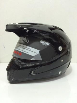 harga Helm snail supermoto mx311# black glossy Tokopedia.com