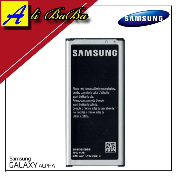 harga Baterai handphone samsung galaxy alpha g850 batre hp battery samsung Tokopedia.com